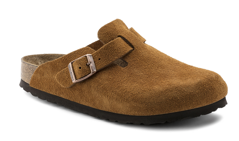 Birkenstock Boston Soft Footbed : BS Mink (Narrow)