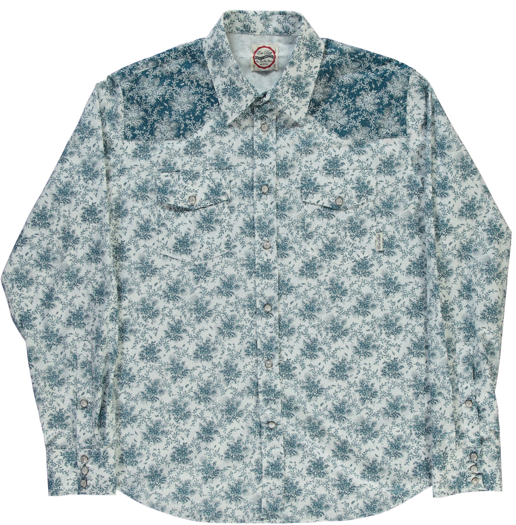 Shirt Western Power Flower
