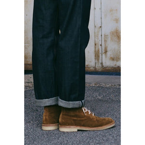 X Desert Boot Leather Sand