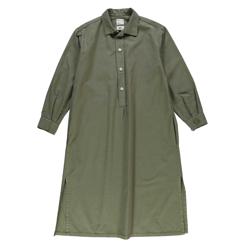 G.o.D Chemise light cotton drill moss green