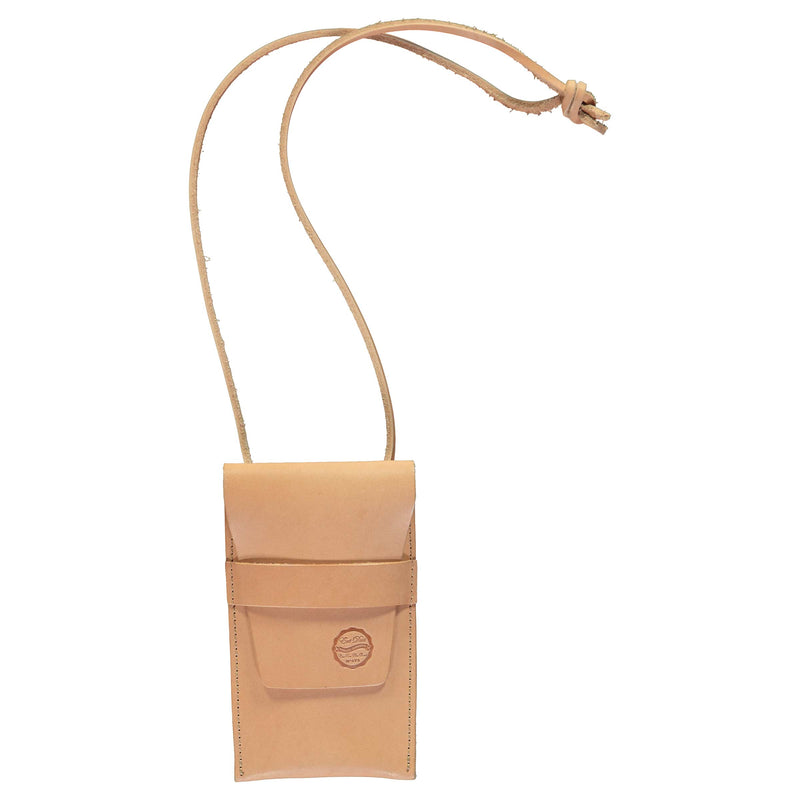 X Chopper Pouch XL Leather Natural