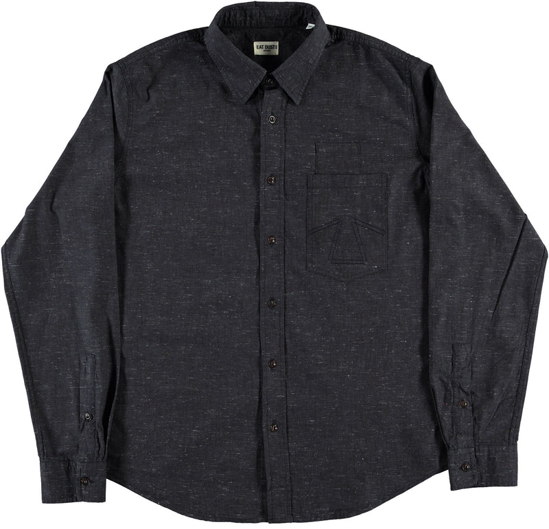 Combat Shirt Brisbane Denim Indigo-front view