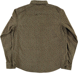 Combat Shirt Wallpaper Cords Khaki-back view