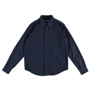 Combat Shirt 8oz Military Denim Indigo