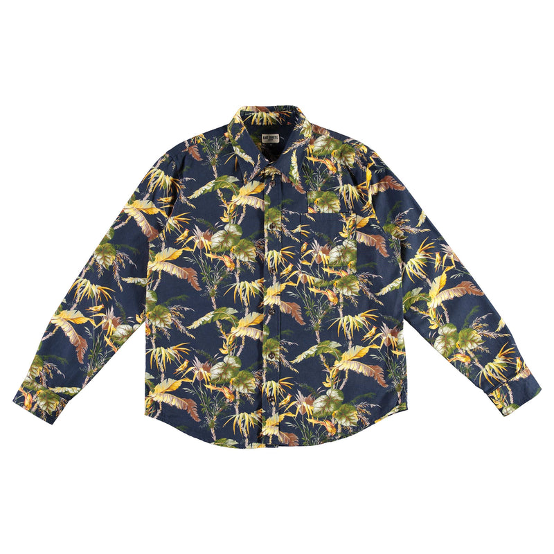 Combat Shirt Wildlife Cotton Blue