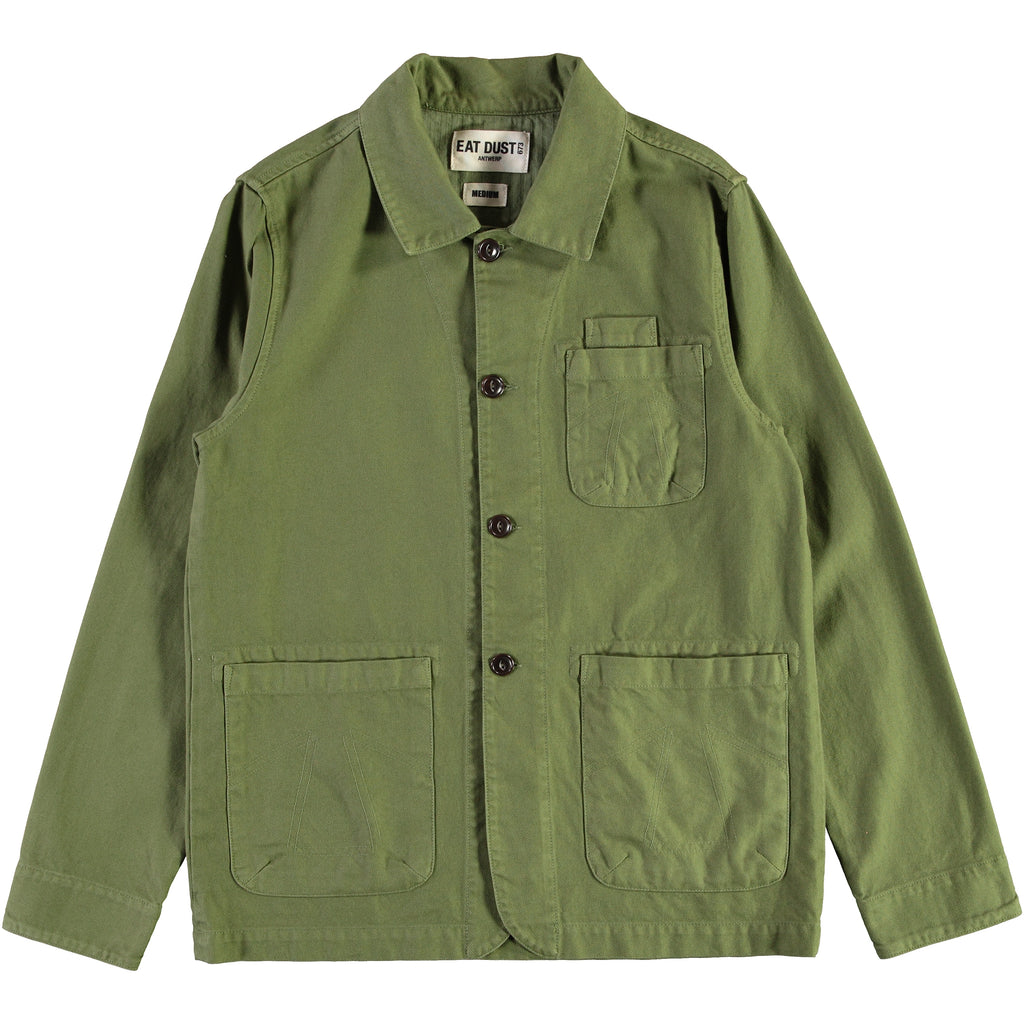 Combat Blazer Cotton Twill Olive