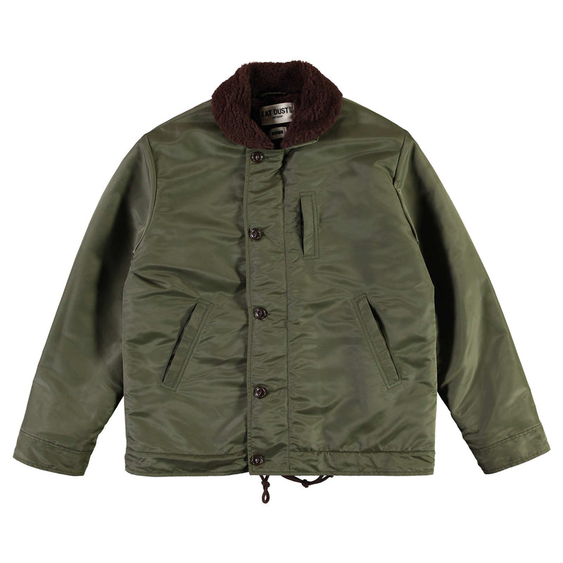 Deck Jacket Military Nylon Khaki