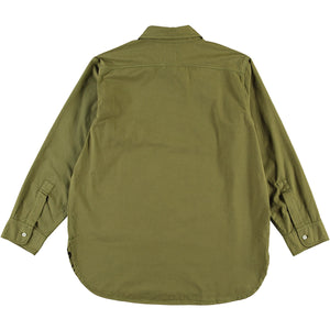 G.o.D Deck Shirt Cotton Drill Olive