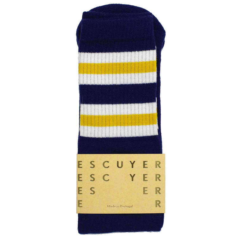 Escuyer Tube socks - Blue Print