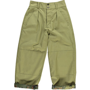 G.o.D Field Chino Forest Camo sateen Olive