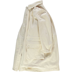 G.o.D Field Coat Coated Bull Denim Natural