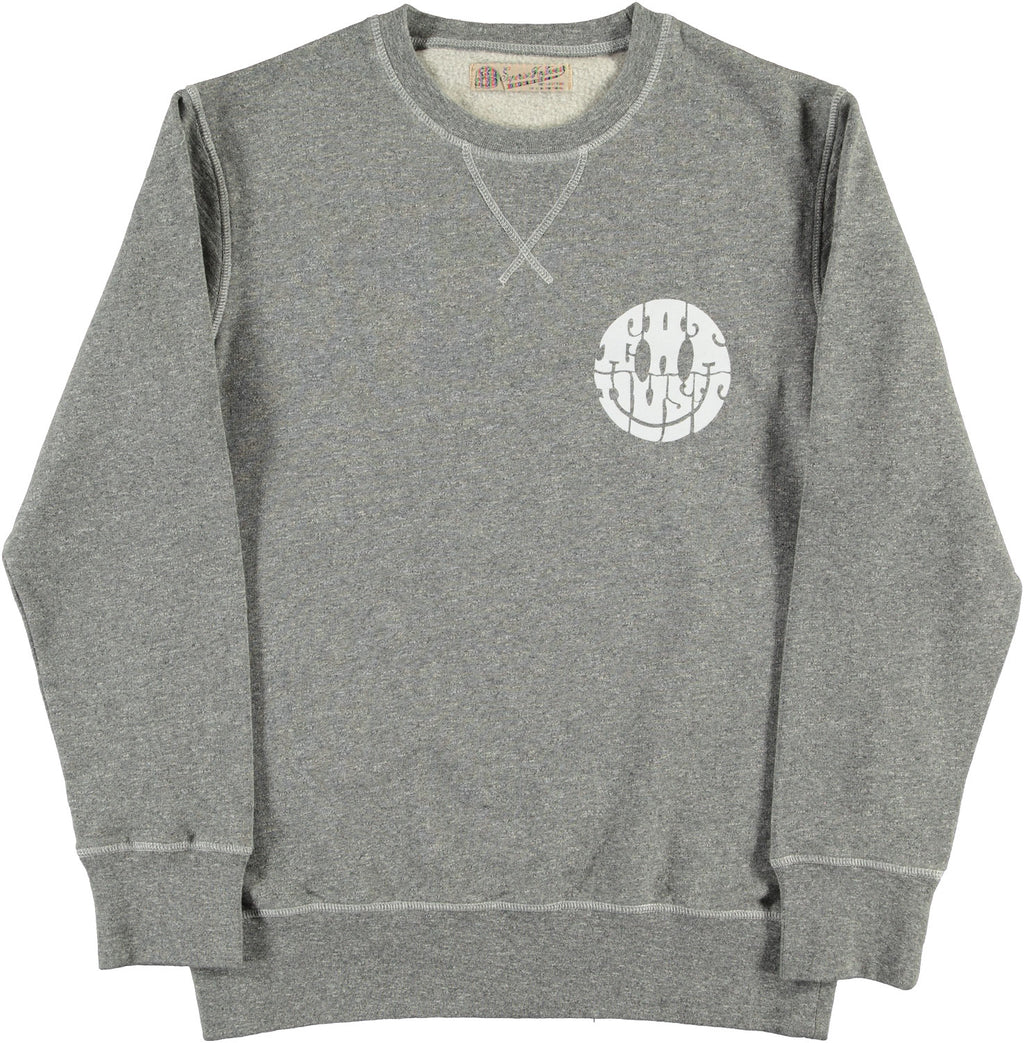 Sweat Smile Grey Melange
