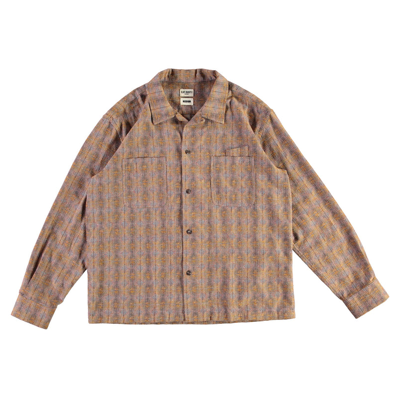Havana Shirt Poker Check Brown/Yellow