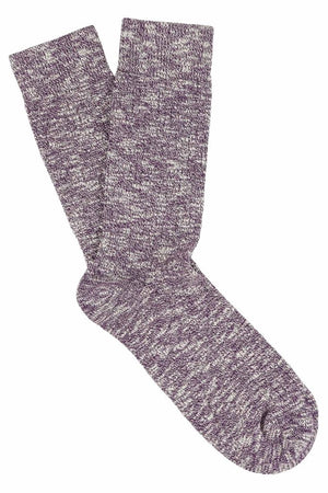 Escuyer socks - Purple Melange