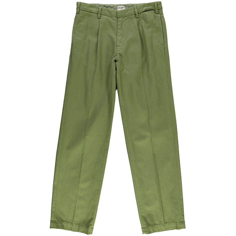 Marina Chino Cotton Twill Olive