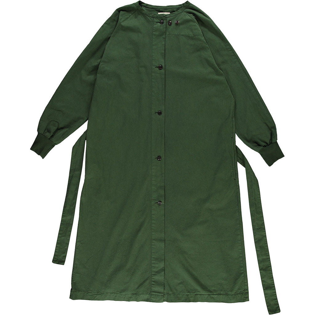G.o.D Military Robe Cotton Drill Forest Green