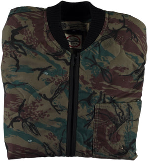 Frostbite Jacket Quilted Nylon Camo-folded view