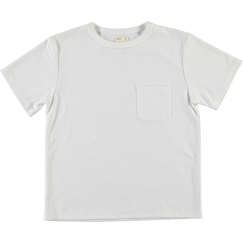 G.o.D Pocket T Open End White
