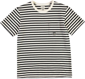 T-Pocket Prisoner Recycled Jersey Black/White
