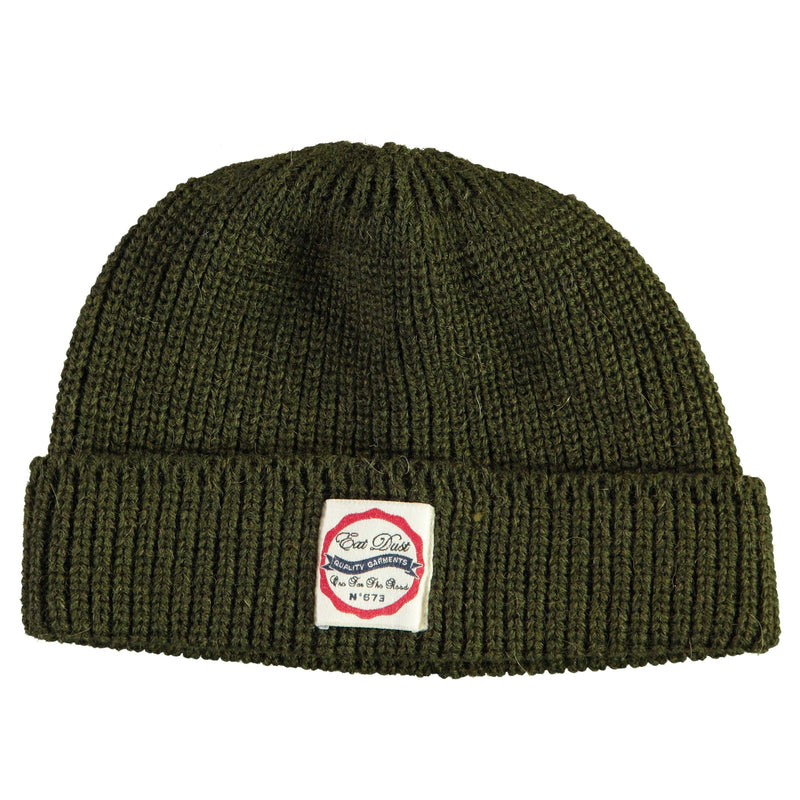 X Sailor Beanie Wool Khaki