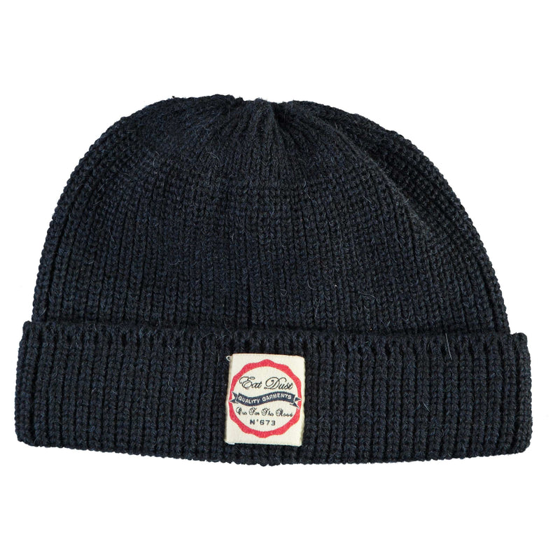 X Sailor Beanie Wool Navy