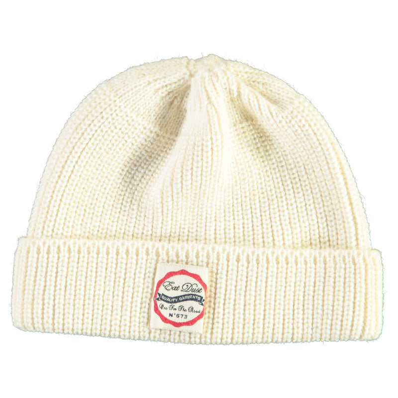 X Sailor Beanie Wool Off White