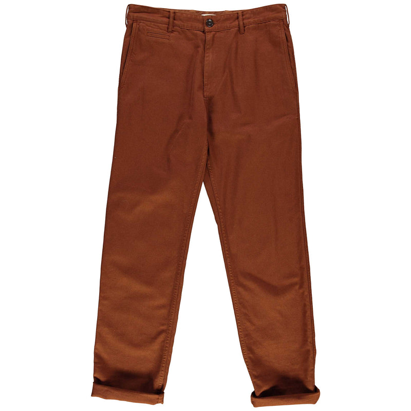 Service Chino Cotton Twill Brown