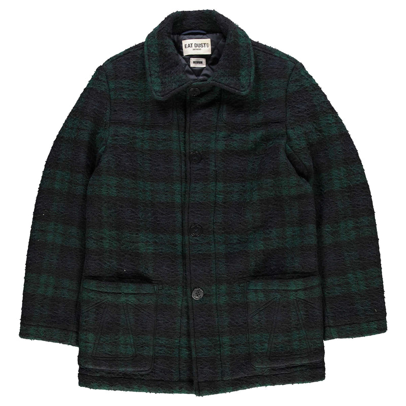 Service Caban Vicious Check Navy/Green