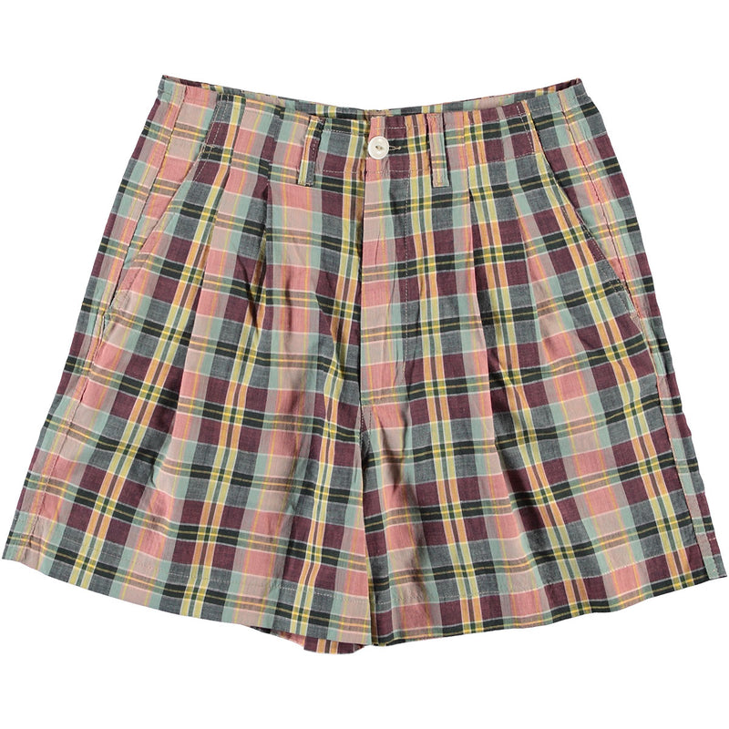 G.o.D River Shorts Madras Check