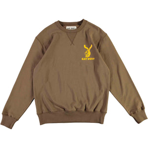 Sweat Bad Attitude Heavy Fleece Khaki