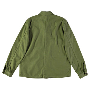 Troy Shirt Cotton Twill Olive