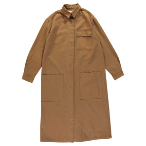 G.o.D Utility Dress Cotton Twill Toffe