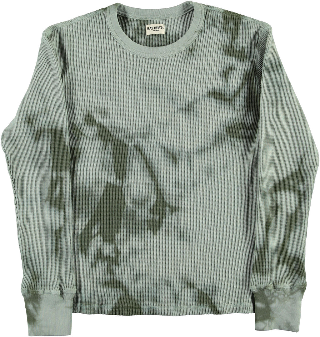 T-Thermal Waffel Jersey Army Green