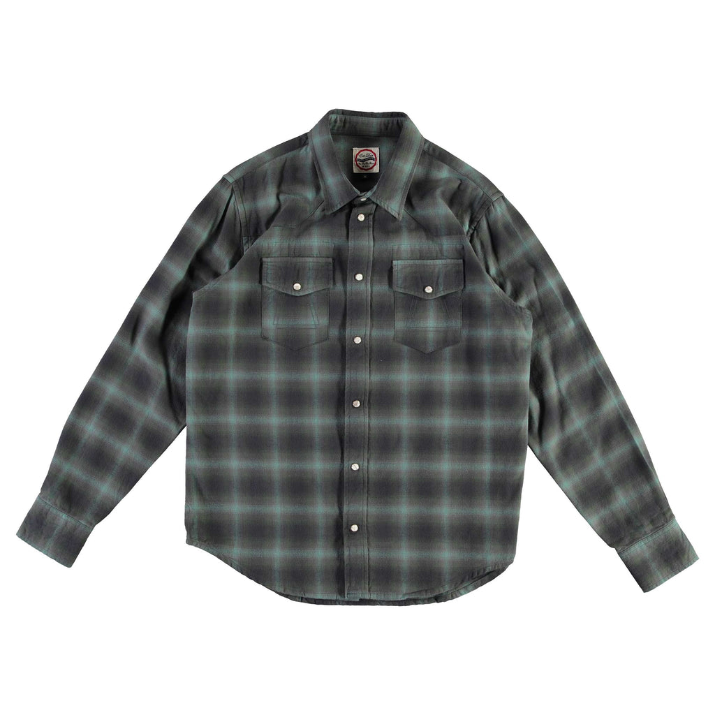 Western Shirt Inverness Check Green