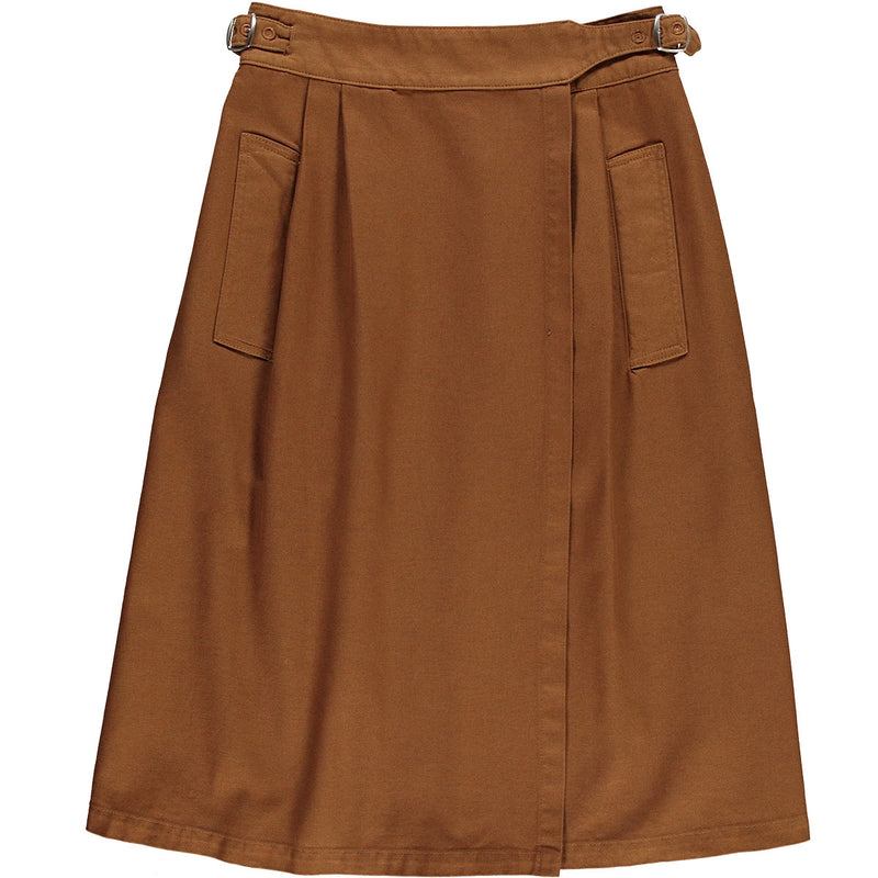 G.o.D Worker Skirt Cotton Twill Tabacco