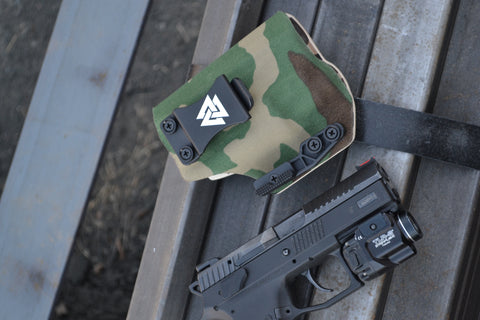concealment wing attached to appendix holster