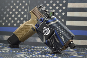 Thin Blue Line IWB holster
