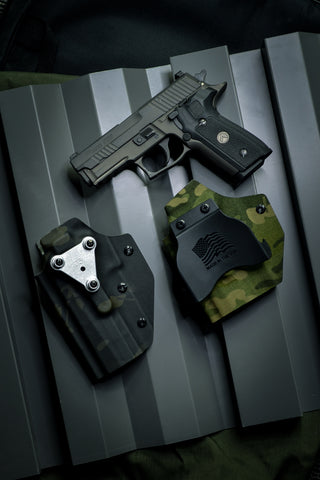 Mounting Options for Tactical OWB Holster