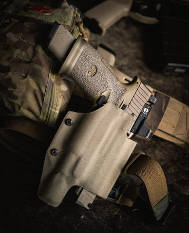 Tactical Outside the Waistband Holster