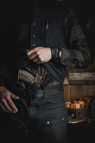 concealed carry with IWB holster for FN509T