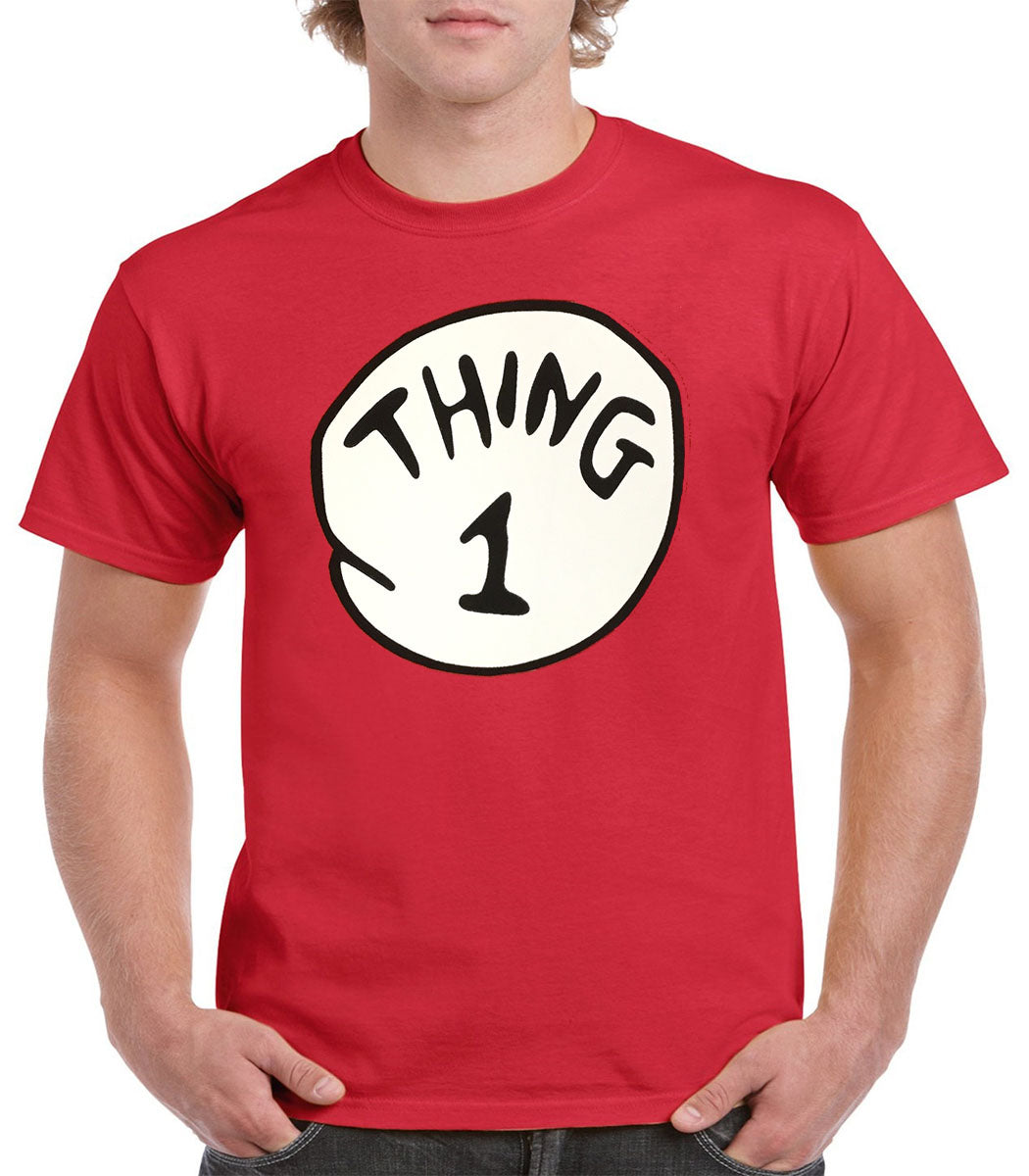 Women's Thing 1-10, Mom, Grandma, Aunt Cat In the Hat Dr. Seuss Short Sleeve T-Shirt