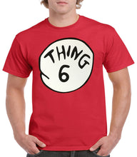 Load image into Gallery viewer, Women's Thing 1-10, Mom, Grandma, Aunt Cat In the Hat Dr. Seuss Short Sleeve T-Shirt