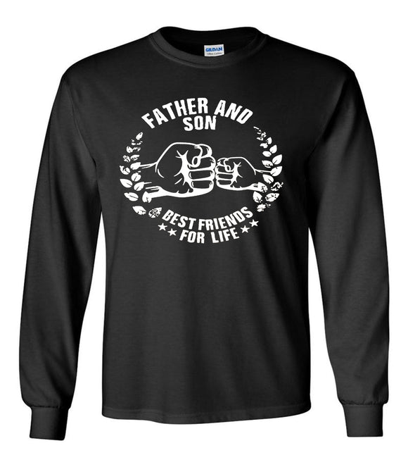 Dad And Son Long Sleeve T-Shirt