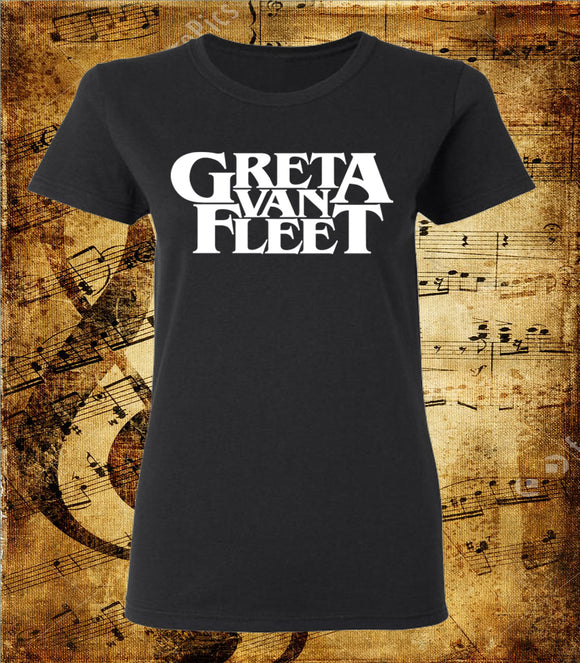 Greta Van Fleet Logo Women's Cut Short Sleeve T-Shirt