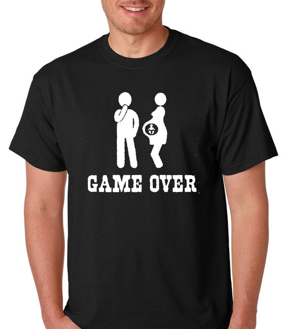 Game Over Funny Short Sleeve T-Shirt
