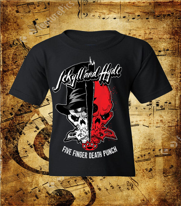 Five Finger Death Punch Jekyll and Hyde Youth T-Shirt