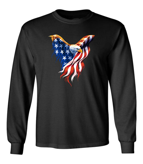 Flying Eagle - Unisex Long Sleeve T-Shirt