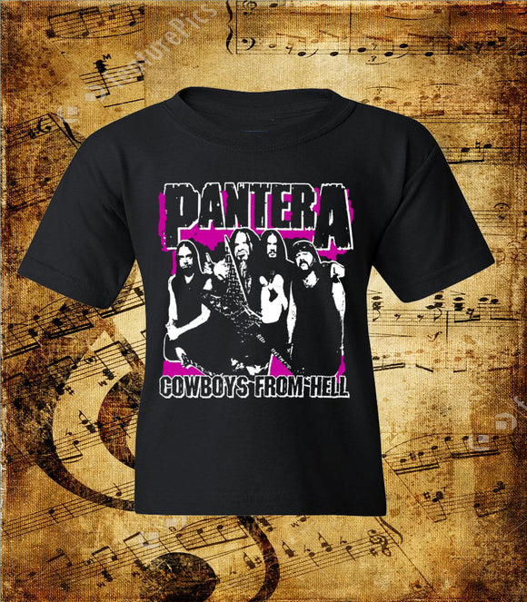 Pantera Cowboys From Hell Whole Band Youth T-Shirt
