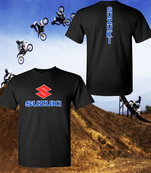 Suzuki Motorcycle T-Shirt - Suzuki Racing Team T-Shirt - Unisex Shirt - Red Print