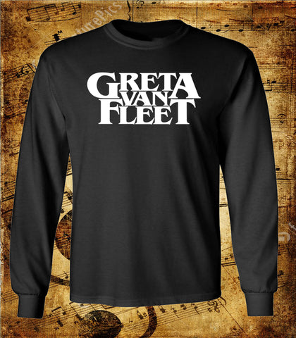 Greta Van Fleet Logo Long Sleeve Shirt